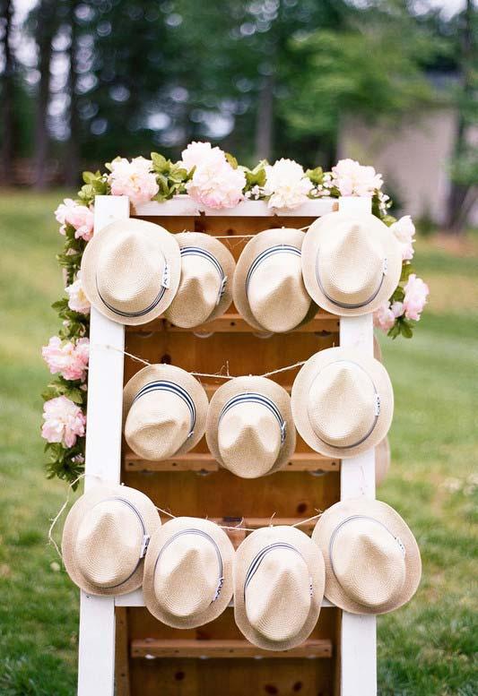 Chapéus como lembrancinha para o Dia dos Pais