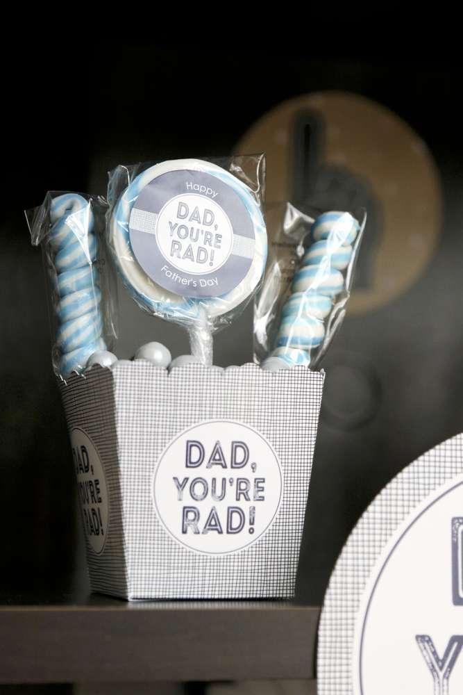Lembrancinha Dia Dos Pais: cestinho de marshmallow