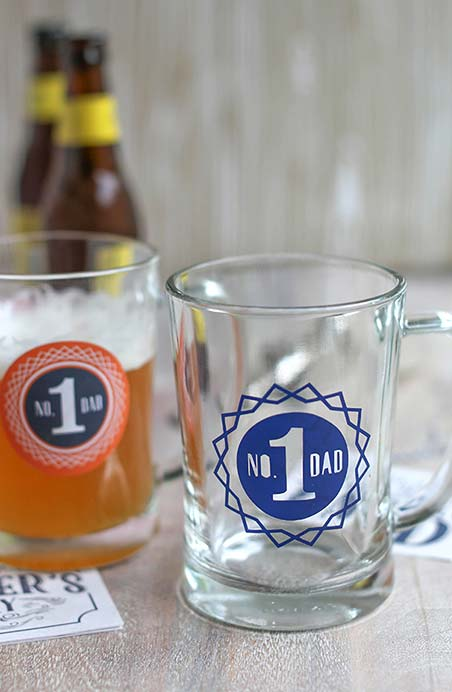 A cerveja do seu pai nunca mais será a mesma com esse copo feito para o número 1