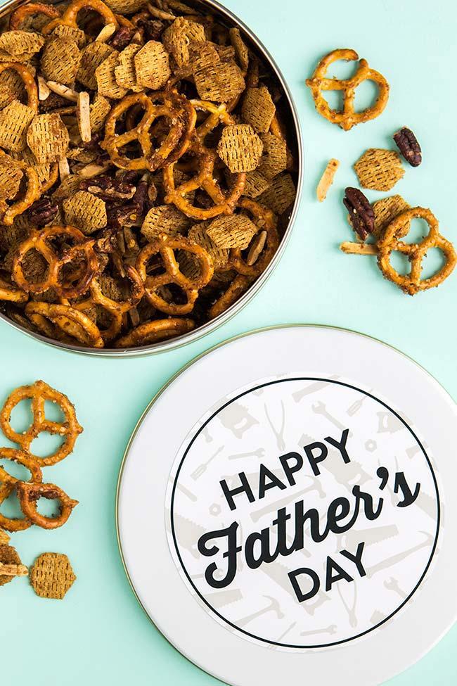 Lembrancinha comestível para o Dia dos Pais