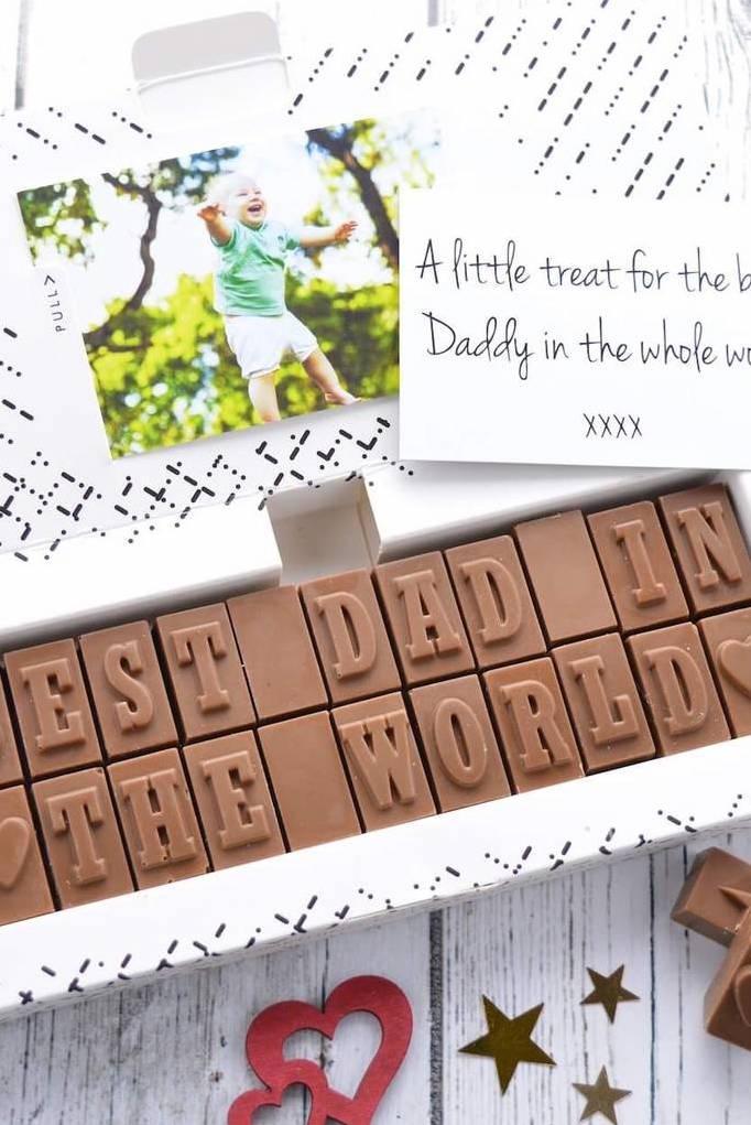 Quem não ama um chocolate? Ainda mais quando ele vem personalizado assim