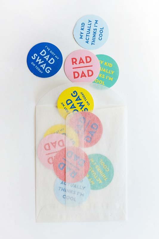 Lembrancinha Dia dos Pais: se um cartão não é suficiente para dizer o que precisa para ao seu pai, tente vários mini cards