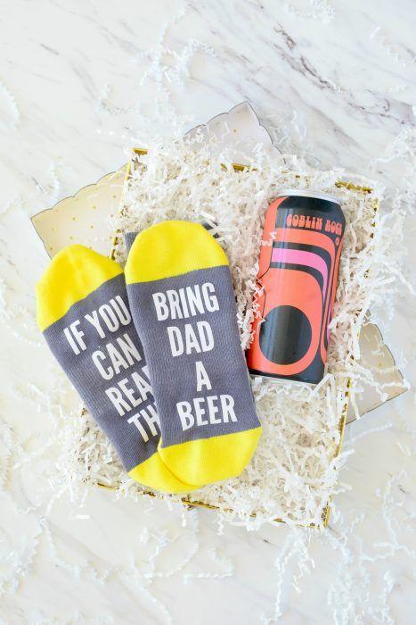 Convite para uma cerveja no dia dos pais