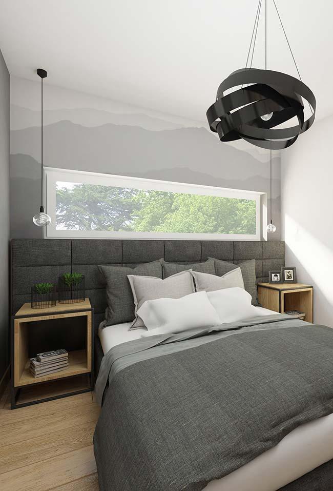 Nichos para quarto com pés substituem com muito estilo os tradicionais criados-mudos
