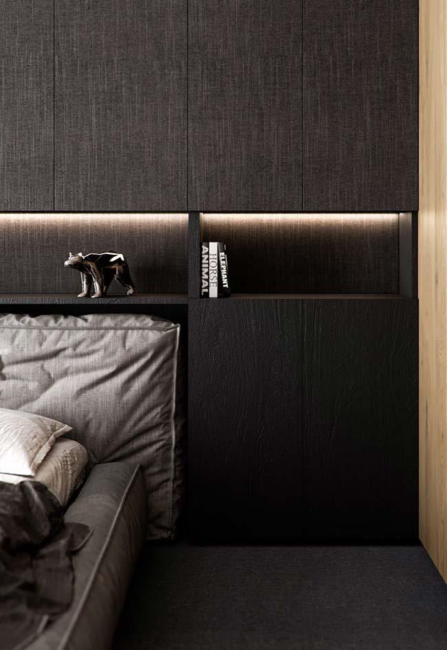 Os nichos para quarto podem ou não ter fundo
