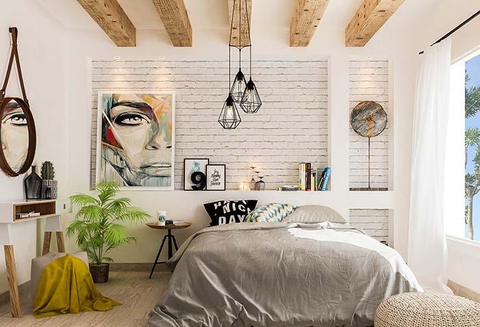 Os nichos para quarto podem ter o tamanho e a dimensão que você desejar