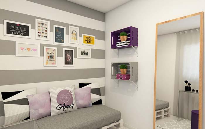 Você mesmo pode fazer os nichos para quarto