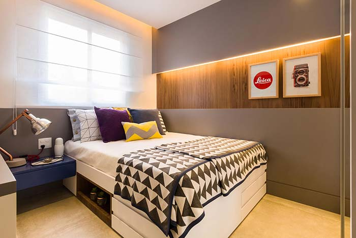 Nichos para quarto: descubra 65 ideias criativas para decorar
