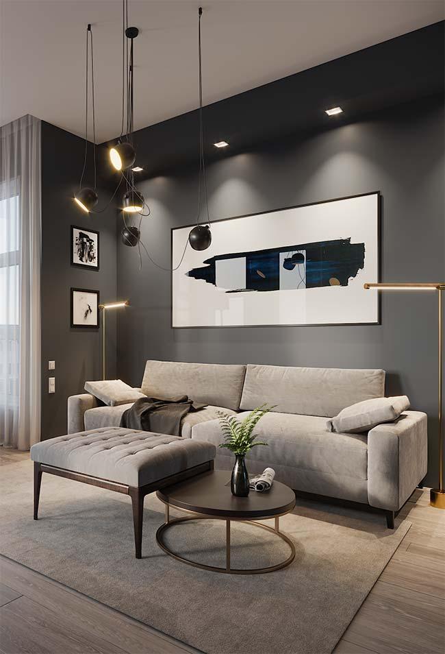 Quadro grande para sala, moderno e abstrato