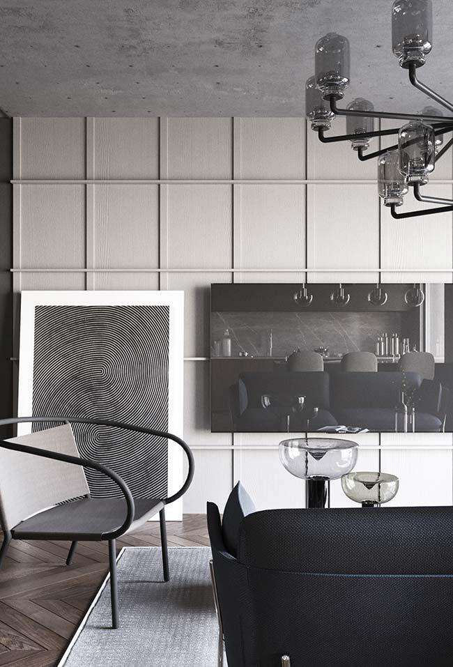 quadro grande para sala que se assemelha a uma impressão digital
