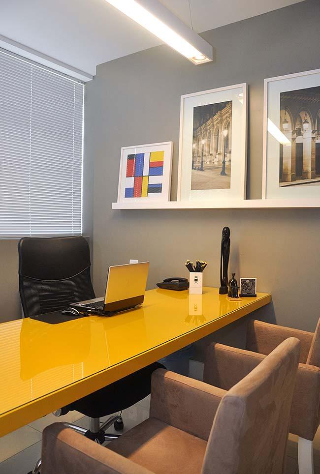 Um escritório que esbanja modernidade e ousadia