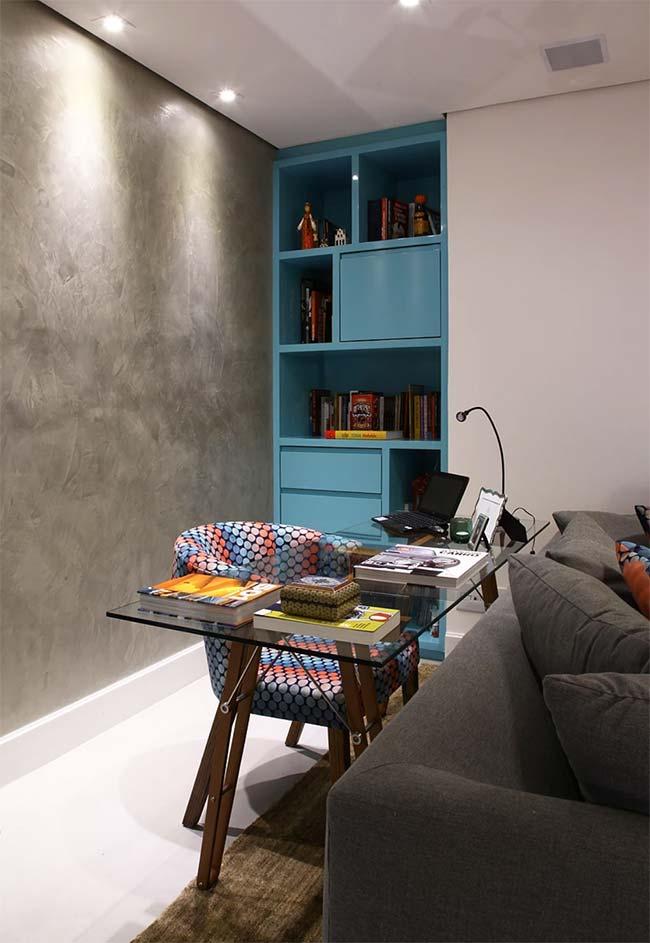 Armário laqueado sob medida; as marcenarias de móveis planejados possuem inúmeras opções de cores para você escolher