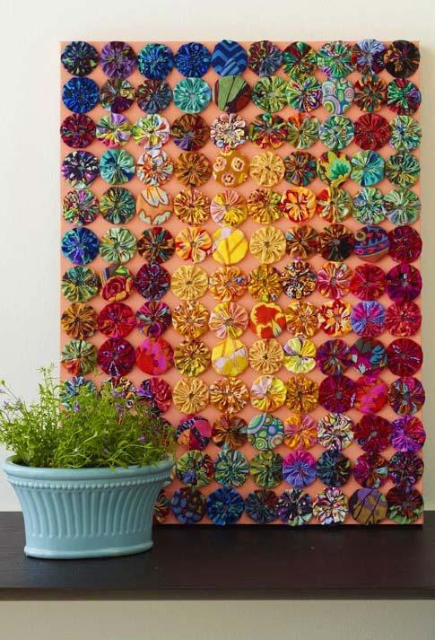 Quadro despretensioso, simples e muito bonito para decorar a casa