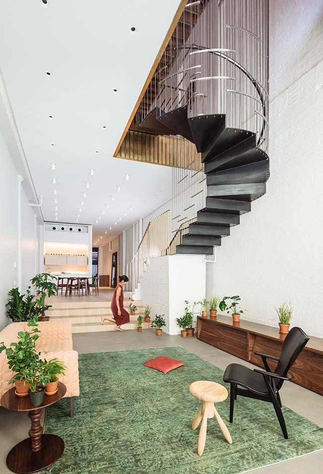 Combine diferentes tipos de escada no seu ambiente
