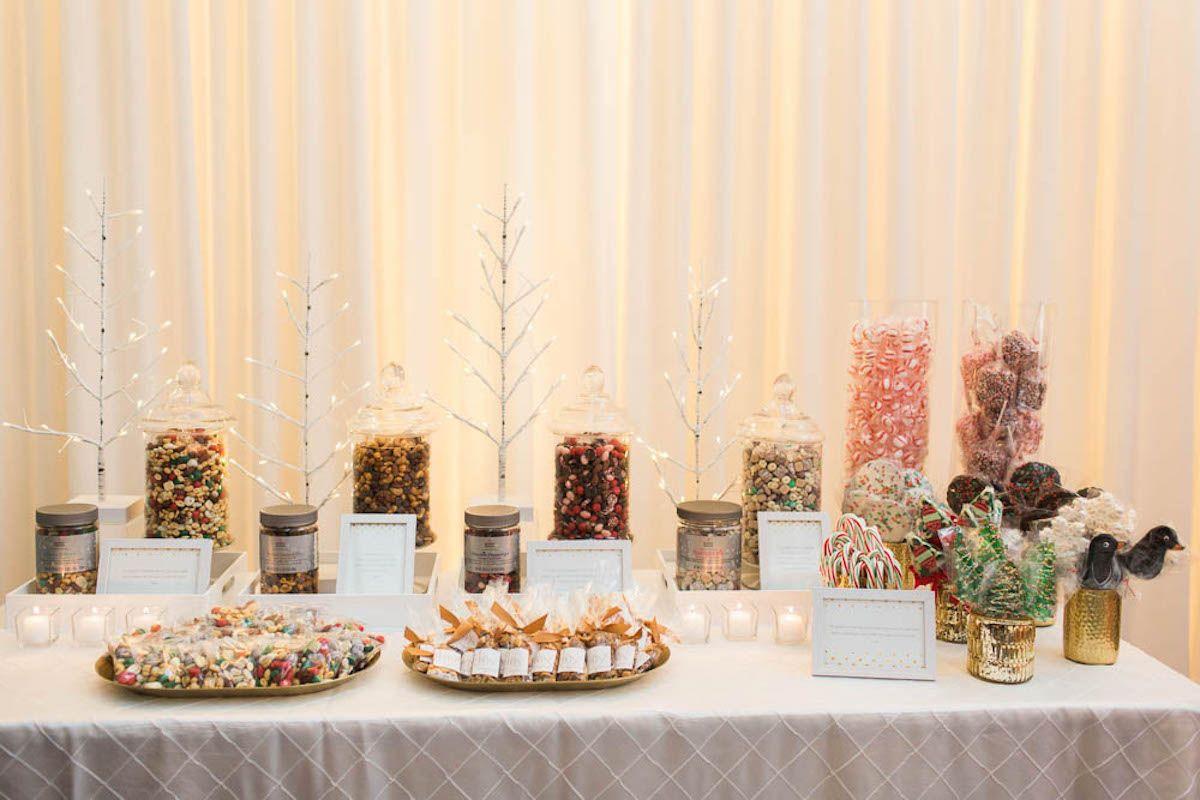 Mesinhas de doces e lembrancinhas para a sua festa de Natal