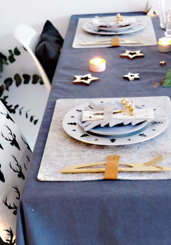 Treats para os convidados: deixe um mimo na mesa para cada pessoa junto aos pratos