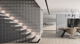 Papel de parede 3D: saiba como decorar com 60 projetos incríveis