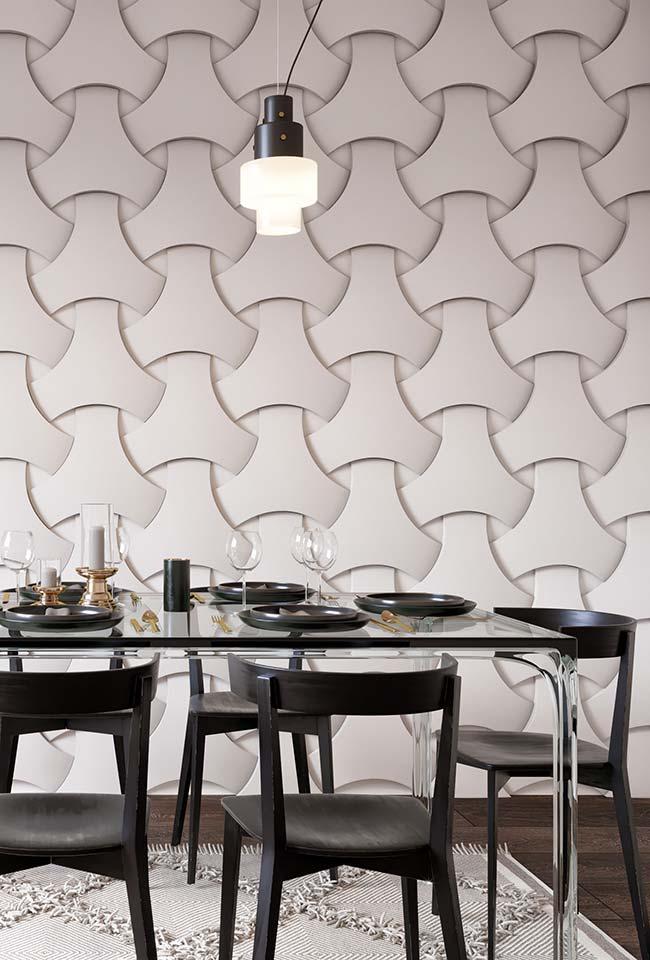 Deixe seus convidados impressionados com o realismo de uma parede trançada