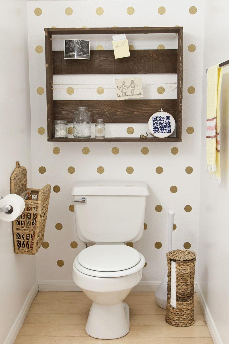 Decoração faça você mesmo fácil e barata para o banheiro