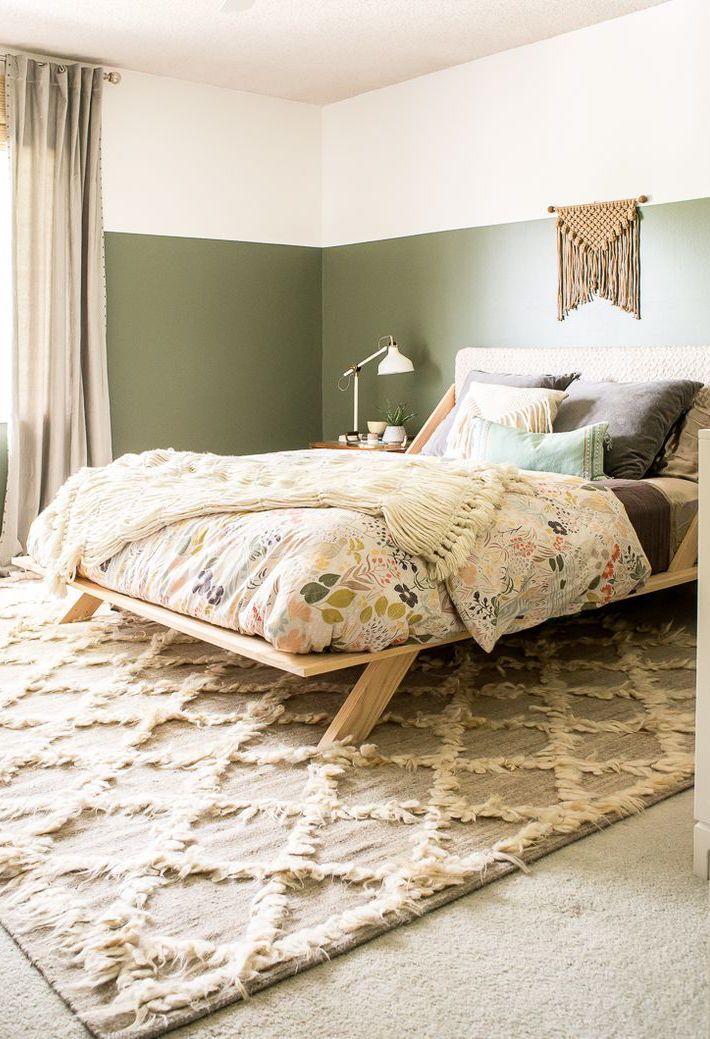 Até a cama do quarto pode ser feita por você mesmo