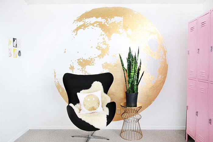 Já pensou ter o mundo na sala de casa? Aqui isso foi perfeitamente possível