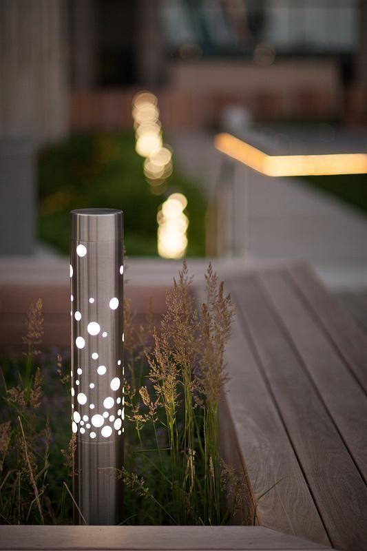 Balizador ilumina, mas seu design diferenciado o torna uma peça decorativa também