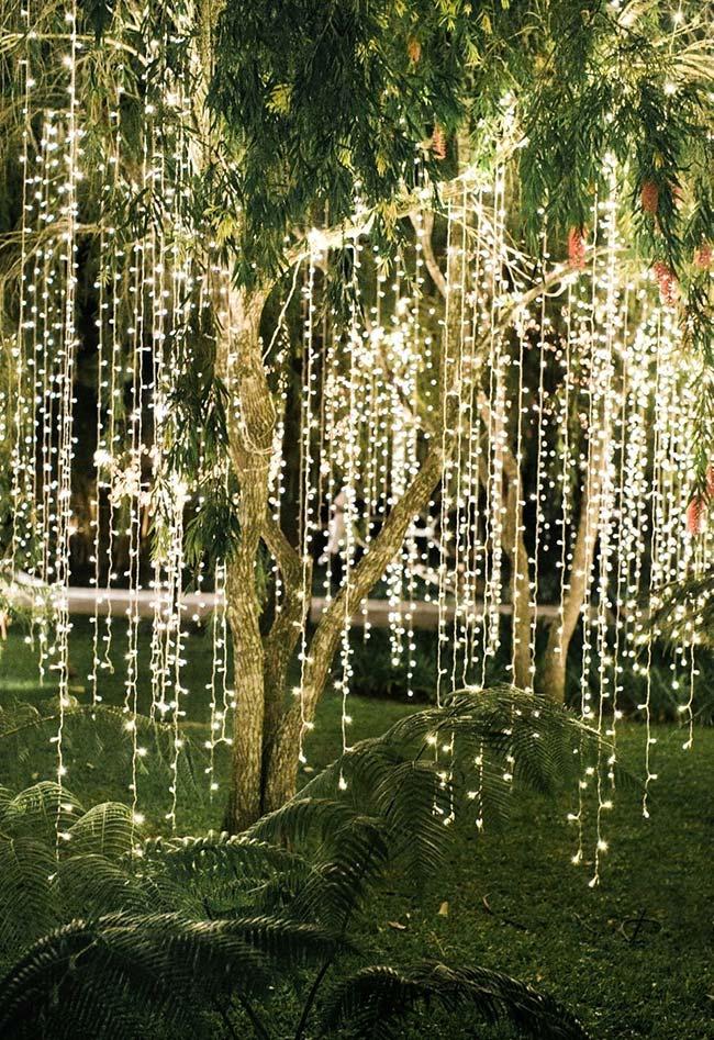 Uma iluminação de jardim para deixar qualquer um suspirando