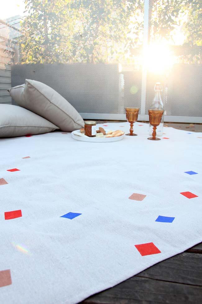Pintura em tecido: um tapete para todas as ocasiões