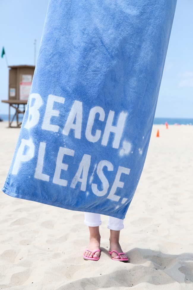 Pintura em tecido para levar na praia