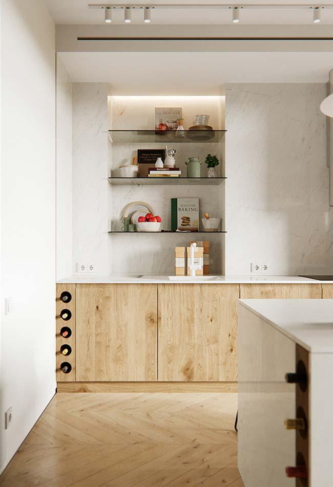 As cozinhas são o ambiente campeão em móveis planejados