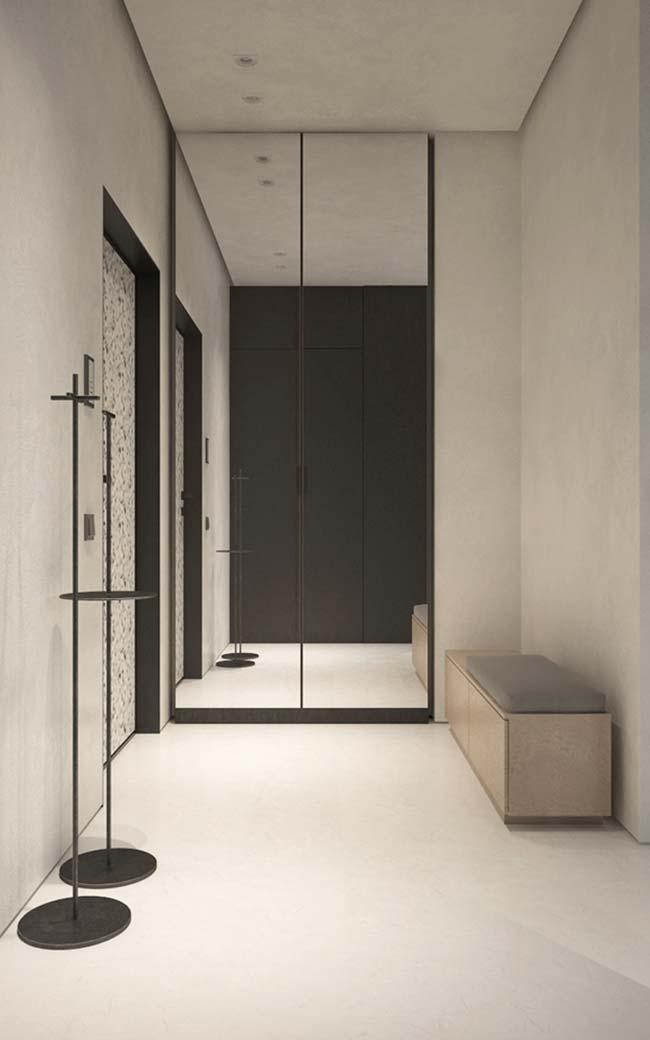 Saindo dos tons de bege ou Off White e entrando agora nos brancos; veja como a cor se encaixa perfeitamente em ambientes de estilo moderno e minimalista