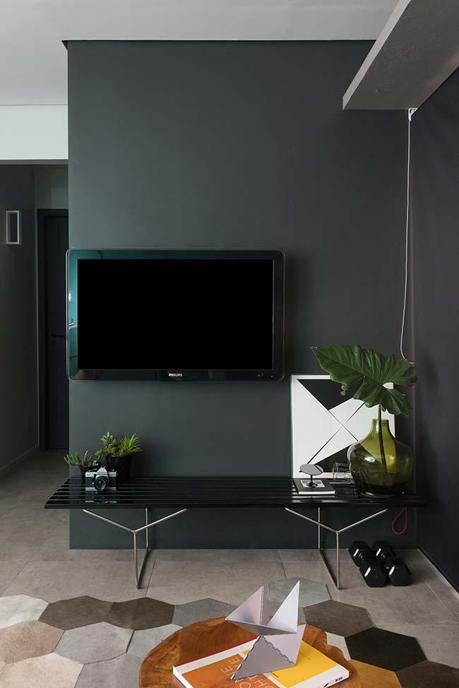 O preto é a cor da elegância e da sofisticação, use sem medo dentro dessa proposta