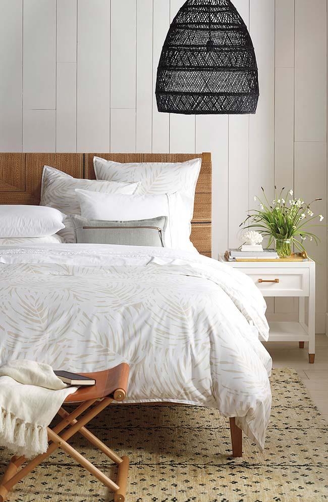 E uma cabeceira de cama feita com juta? Te agrada? Olha que inspiração!