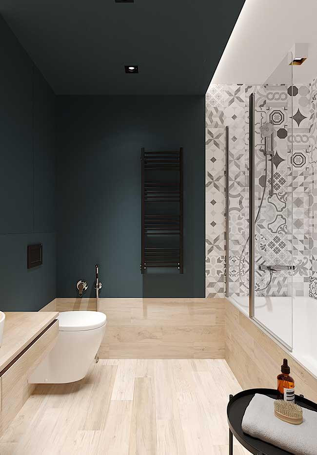Banheiro spa de estilo moderno