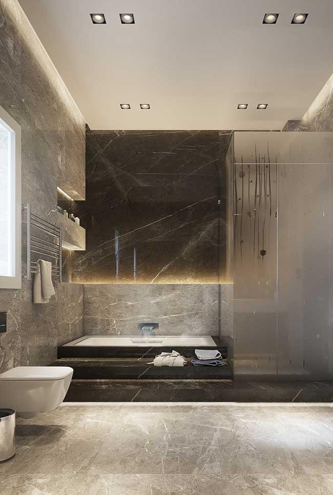 Banheiro spa amplo