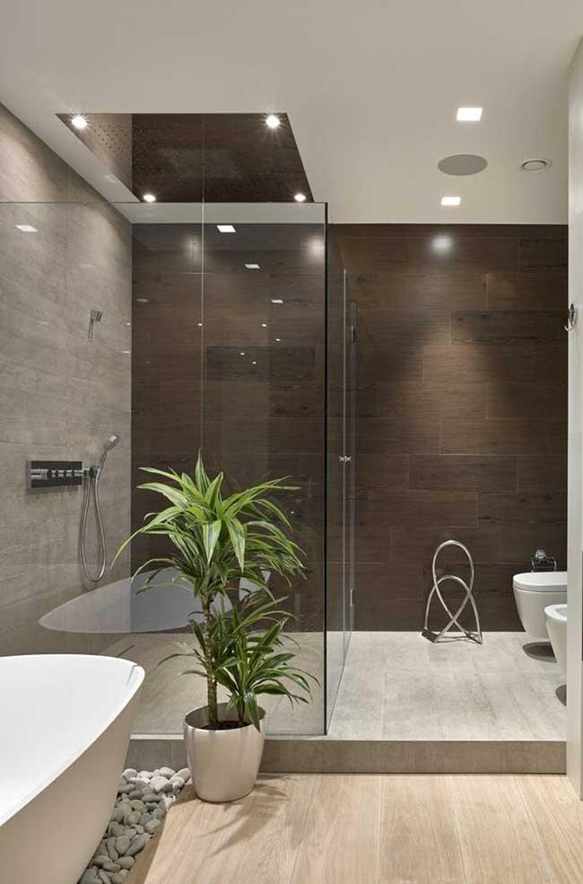 Banheiro spa aconchegante e bonito