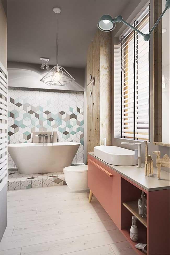 Sempre vai existir um banheiro spa no estilo que você procura