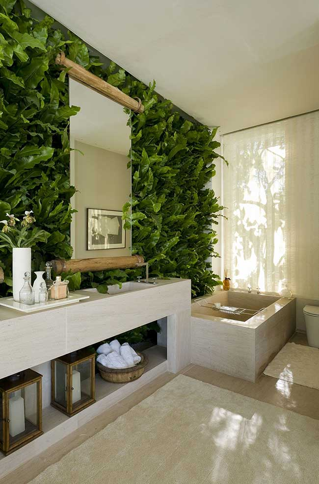 Banheiro spa urban jungle