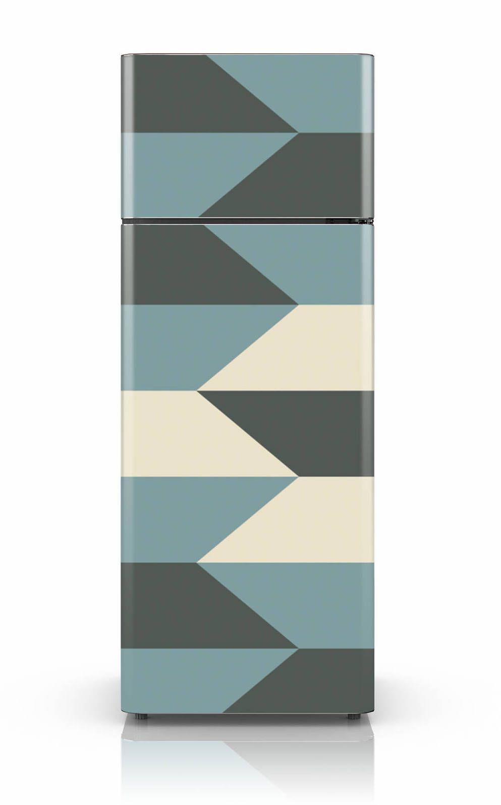 Nas cores da decor moderna: cinza, branco e azul