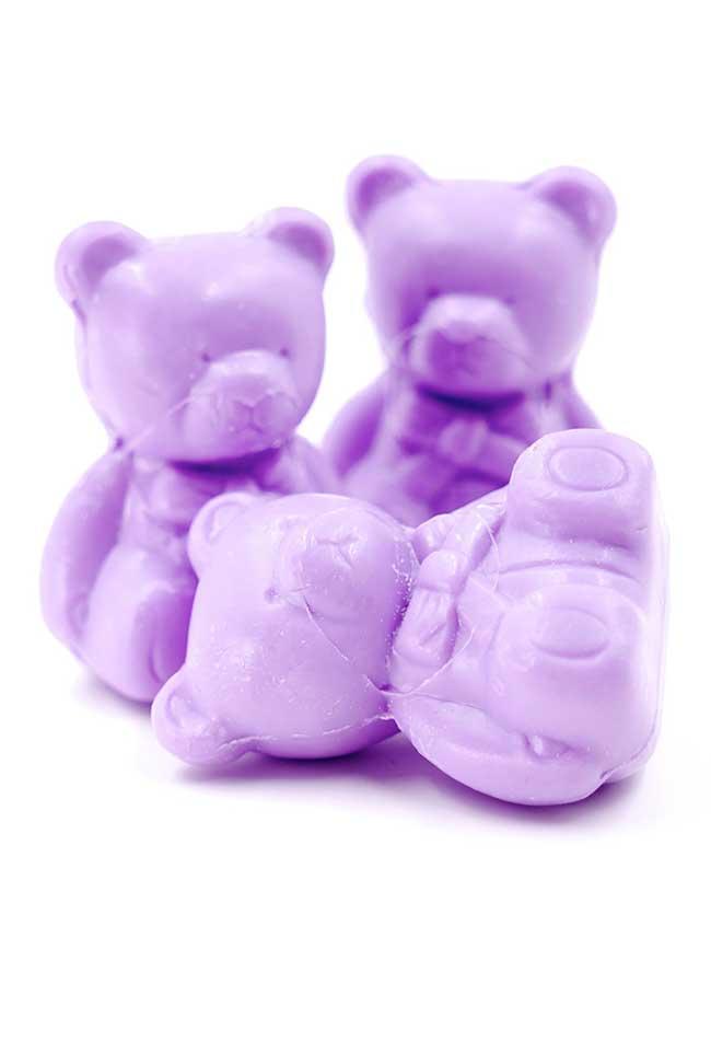 Ursinhos fofos de sabonete! Dá até dó de usar