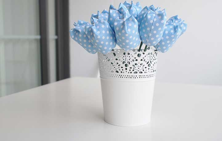 Tulipa de quatro pontas
