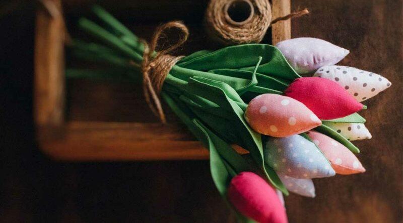 Como fazer tulipa de tecido: descubra como fazer passo a passo