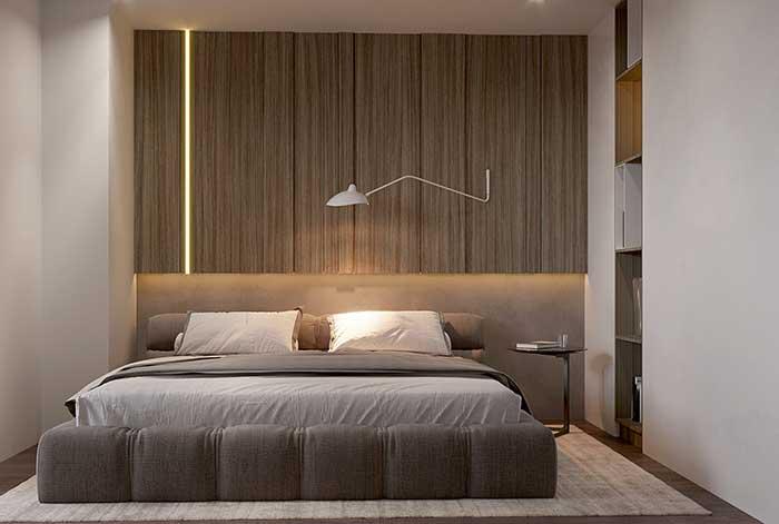 Fita de LED na vertical e na horizontal