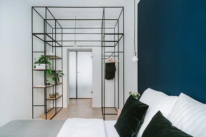 Para os que preferem uma decoração minimalista, essa proposta se encaixa muito bem