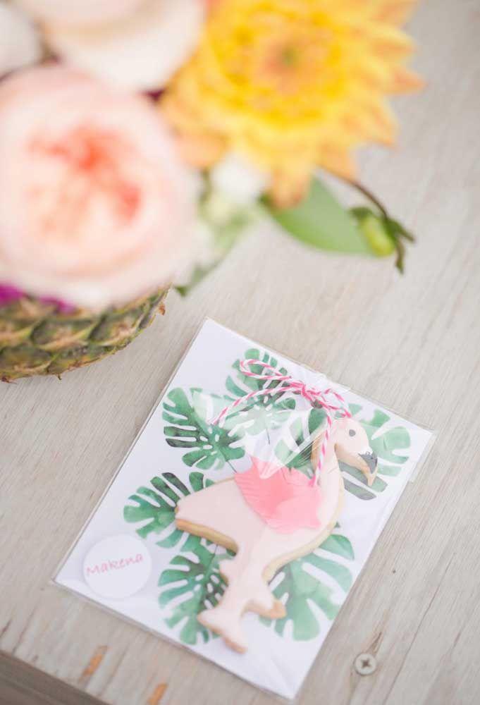 Festa flamingo lembrancinhas super fofas para os seus convidados
