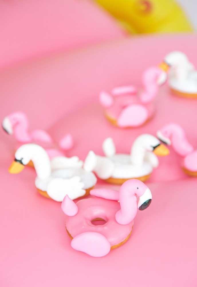 Flamingos incríveis