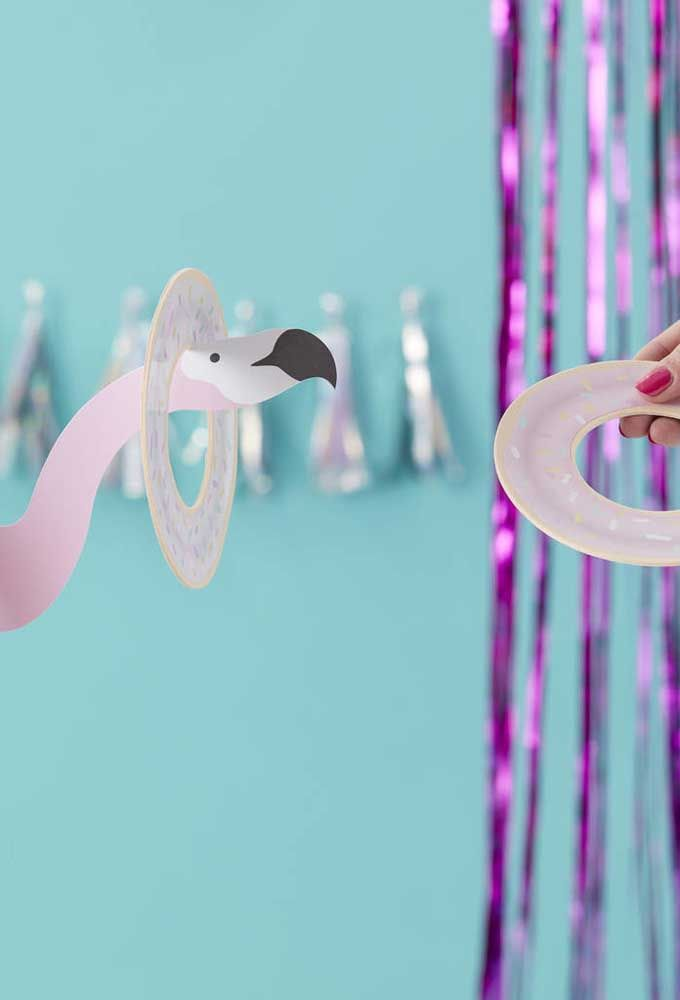 Atividade: discos no pescoço do flamingo