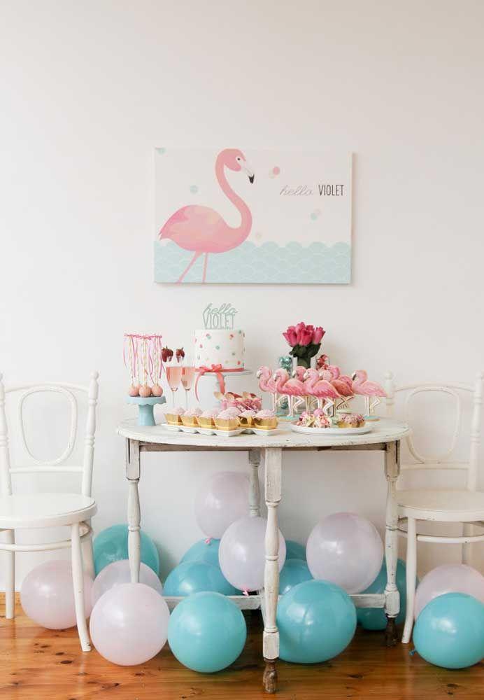 Festa Flamingo 60 Ideias Criativas de Decoraç u00e3o e Fotos do Tema