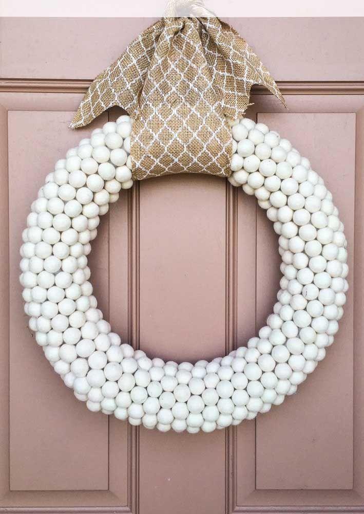 Bolinhas brancas: simples assim!