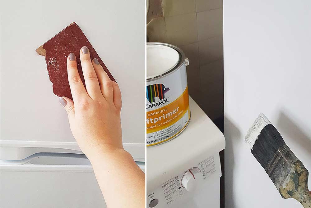 Passo a passo para pintar sua geladeira